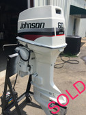 "1993 Johnson 60 HP 3 Cylinder 2-Stroke 20"" Outboard Motor"