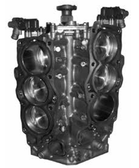 Remanufactured Yamaha F225/250/300 HP 4.2L V6 Short Block, 2010 and Up