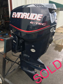 "2007 Evinrude 115 HP ETec V4 2-Stroke 20"" Outboard Motor"