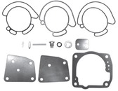 New Aftermarket Johnson/Evinrude Viton 4/6 Cylinder 60° Carburetor Kit  [Replaces OEM 438996]