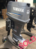 "2005 Yamaha 90 HP 3 Cylinder 2-Stroke 20"" Outboard Motor"