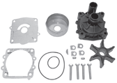 New Aftermarket Yamaha 2.6/3.1/3.3L Water Pump Kit, Single Water Pickup [Replaces OEM 6G5-W0078-A, 61A-W0078-A2-001-00]