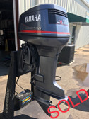 "1998 Yamaha Saltwater Series 130 HP V4 2 Stroke 25"" RH Outboard Motor"