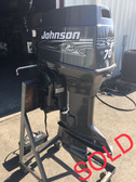 "2001 Johnson 70 HP Carbureted 3 Cylinder 2-Stroke 20"" Outboard Motor"