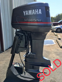 "1998 Yamaha 130 HP Saltwater Series V4 2 Stroke 25"" LH Outboard Motor"