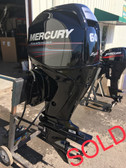 "2009 Mercury 60 HP 4 Cylinder 4-Stroke 20"" Bigfoot Outboard Motor"