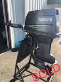 """1996 Yamaha 50 HP 3 Cylinder 2-Stroke 15"""" Tiller Outboard Motor"""