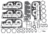New Aftermarket Mercury/Mariner 4 CYL 100-125 HP Powerhead Gasket Kit [1988-2005] [Replaces OEM# 27-13461A99]