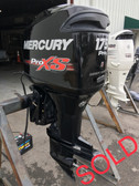 "2013 Mercury Optimax ProXS 175 HP V6 2-Stroke 20"" Outboard Motor"