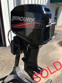 "2005 Mercury 50 HP 3-Cylinder 2 Stroke 20"" Outboard Motor"