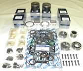 New Mercury/Mariner 3.0L Carbureted/EFI Powerhead [Double Roller Center Mains] Rebuild Kit