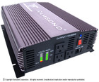 Ramsond SunRay 1500 (12V) Pure Sine Wave Power Inverter - 12V DC to 115V AC (60Hz) - 1500W Rated Output
