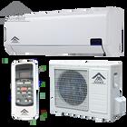 Amvent Inverter Series 12000 BTU 1 Ton+ Ductless Mini Split AC | Seer 19.0 | COOLING ONLY | 110V 60Hz