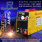 Ramsond CUT50 50 Amp Pilot Arc Digital Inverter Plasma Cutter