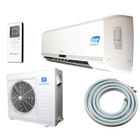 Ramsond Model 74GW3 24000 BTU SEER 13 Mini Split Ductless Air Conditioner with Heat Pump & Back Up Electric Heat