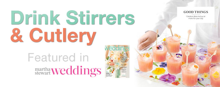 Drink Stirrers and Cutlery