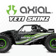 Axial Yeti sKinz