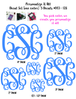 Vinyl Decal Set #003