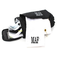 Monogrammed Golf Towel - White