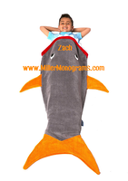 Personalized Blankie Tail - Shark
