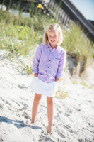 Prodoh Long Sleeve Button Down - Light Purple