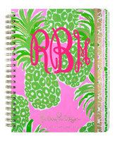 Lilly Pulitzer® 2018 Agenda - Jumbo 17 Month - Flamenco Pink