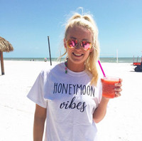 Honeymoon Vibes Short Sleeve Tee