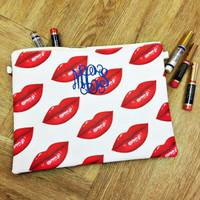 Monogrammed Lip Bag