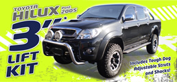 New Hilux Suspension Lift Kit