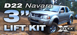 Nissan D22 3 inch Lift Kit