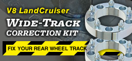 LandCruiser Wheel Spacer Kit