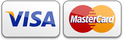 Secure payment via Visa and Mastercard