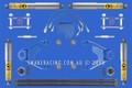 """Navara D22 3"""" X-Flex Lift Kit"""