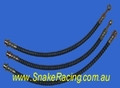 Izusu MU Braided Brake Line Kit