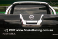 Nissan D40 Navara Chrome Tailgate Kit