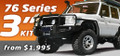 "76 LandCruiser Series 3"" Suspension Kit"