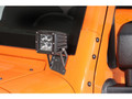 JK Jeep Single Dually A Pillar Mount Kit - Fixed