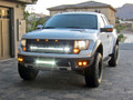 "Ford F-150 SVT Raptor 40"" LED Upper Grille Mount"