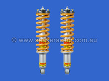 Your choice of having pre assembled struts - save time on installation, no springs compressors required.