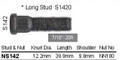 "Wheel Stud 7/16"" x 39.9mm - osc - WS11-S142"