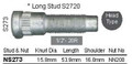 "Wheel Stud 1/2"" x 53.9mm Head - osc - WS13-S273"
