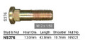 Wheel Stud M12 x 43.8mm - osc - WS16-S376
