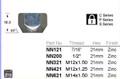 M14 x 1.5 Wheel Nut 21mm Hex - osc - WN26-NN621