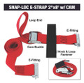 Snap-Loc - 50mm x 2.4m Cam Buckle
