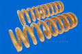 Discovery II REAR Coil Springs - 35mm lift
