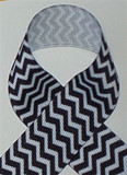 Black Chevron Ribbon
