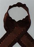 Brown Ruffle Ribbon