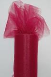 Burgundy Tulle Fabric