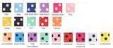 Polka Dot Color Charts