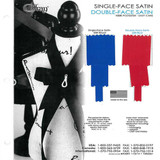 Single face and Double face Polyester Satin Color Charts